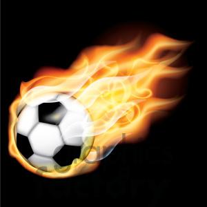 flaming-soccer-ball