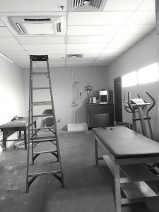fcs booster club constructs new athletic training room fresno