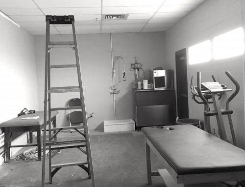 FCS Booster Club constructs new athletic training room